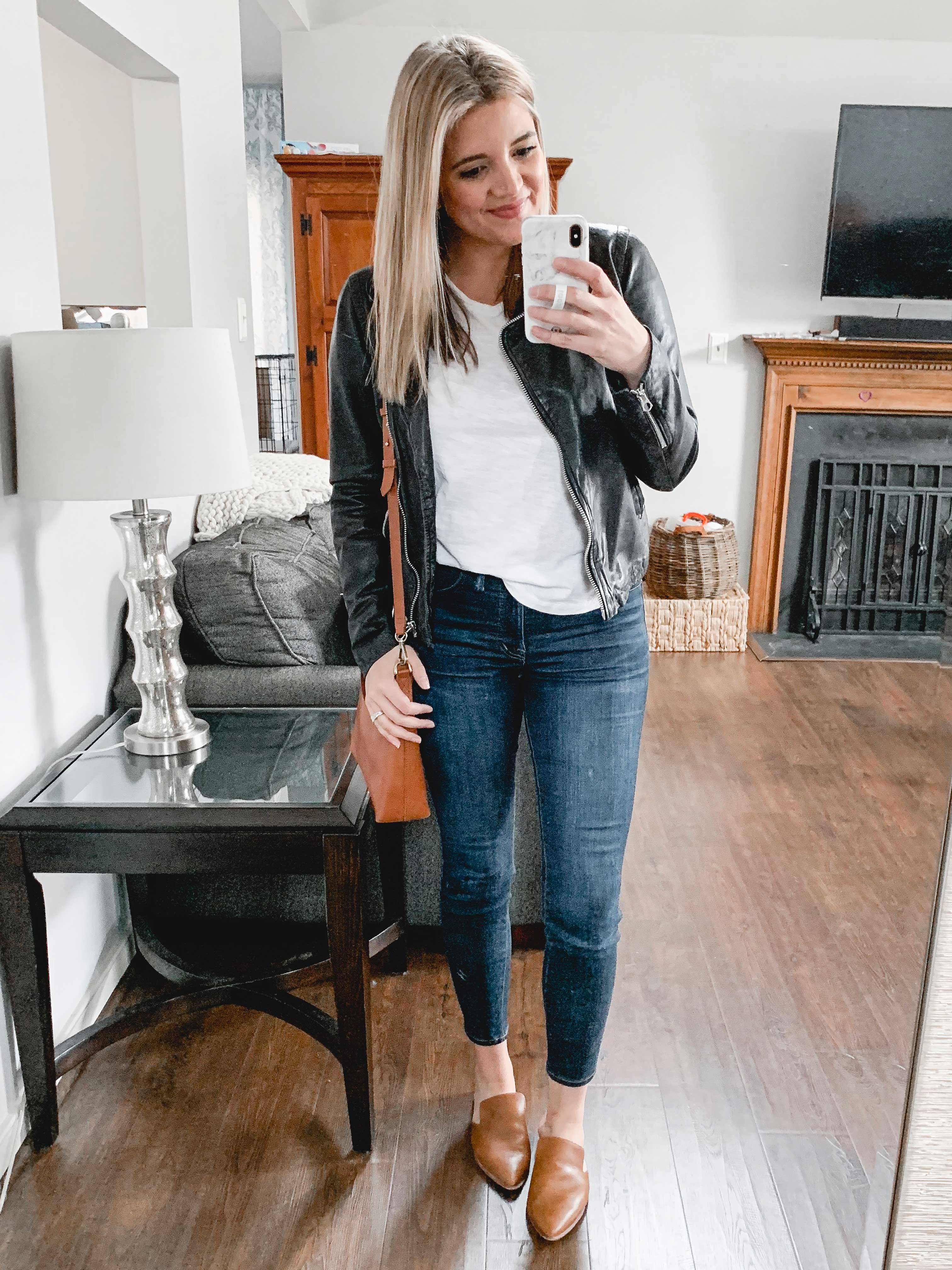 Virginia blogger, Lauren Dix, shares her shopbop fall sale top picks, including fall madewell outfits!
