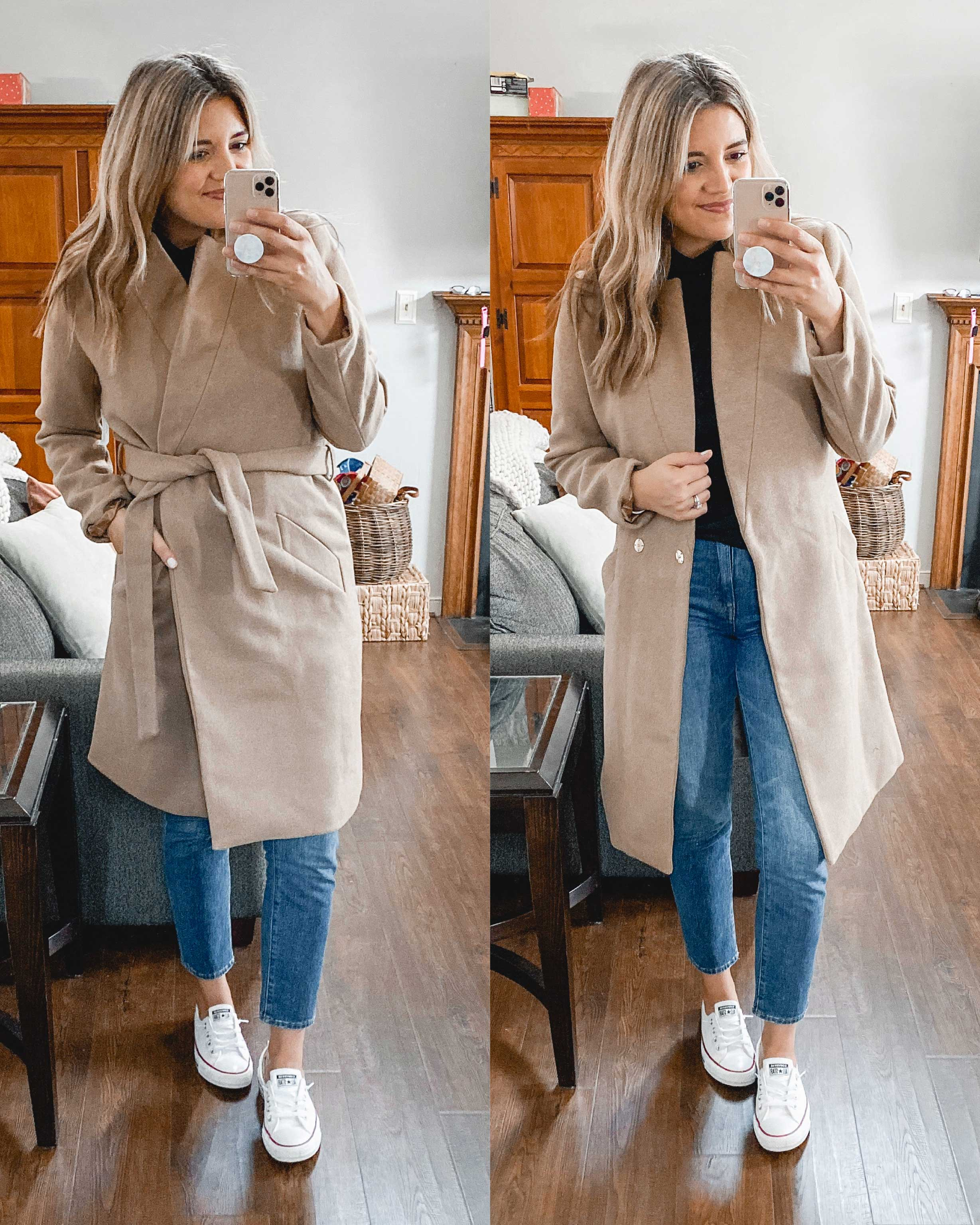 Virginia blogger, Lauren Dix, shares a Fall Amazon try on haul, featuring some of her favorite Amazon women's clothes for fall.