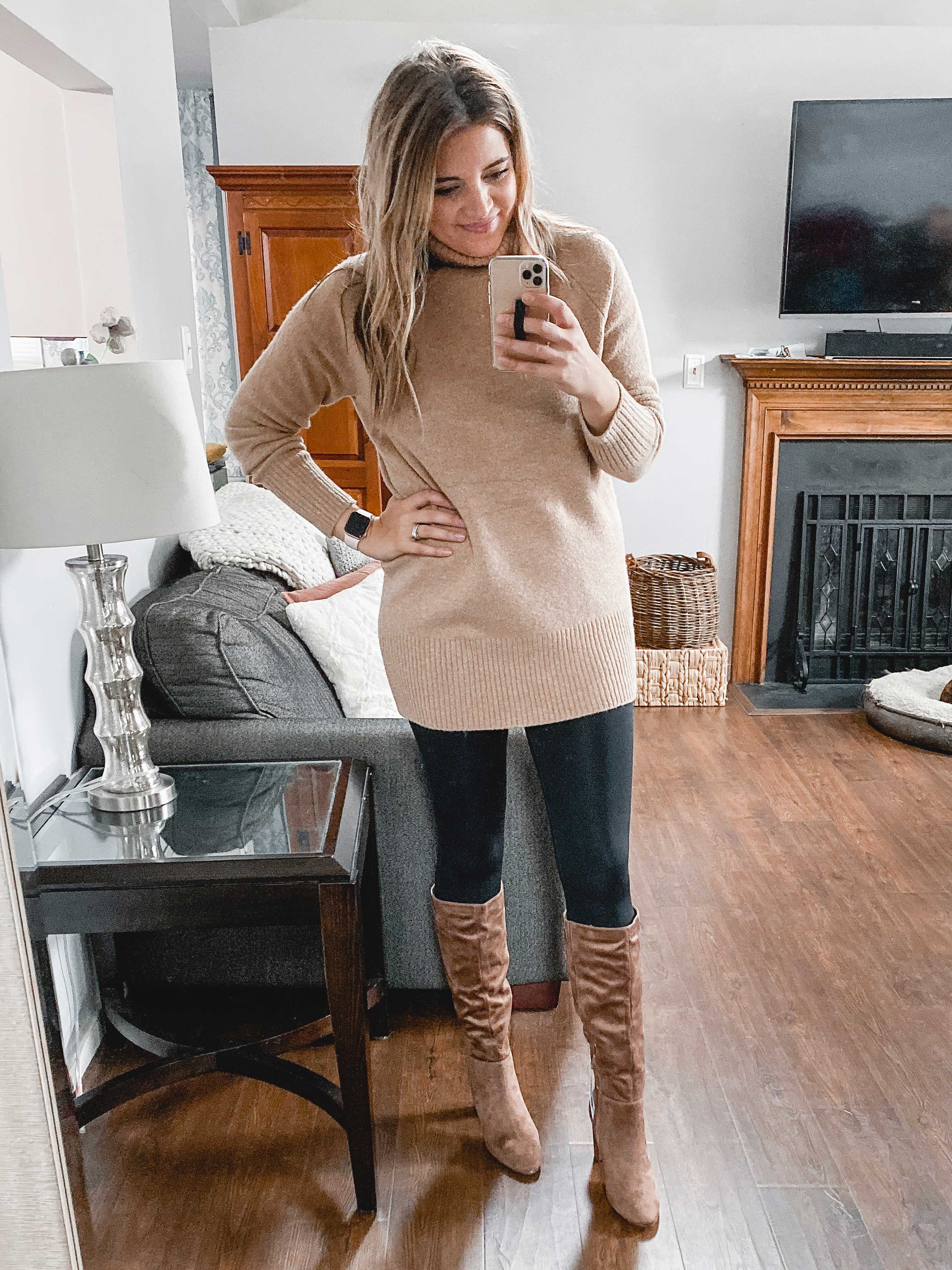 Virginia blogger, Lauren Dix, shares over ten of the cutest Target women's clothes and Target boots in her Fall Target try on!