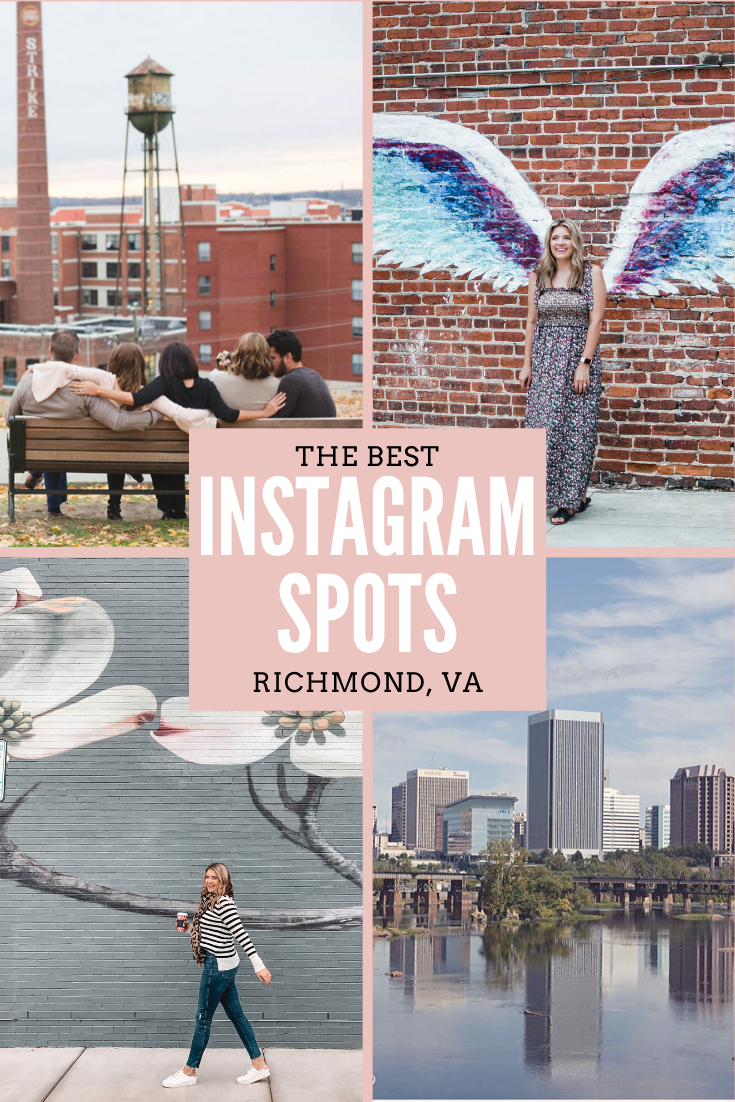 Richmond blogger, Lauren Dix, shares all the best Instagram Spots in RVA!
