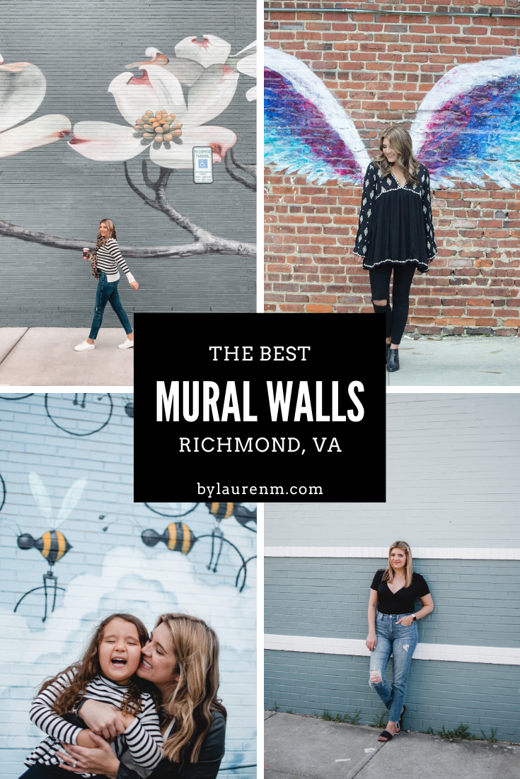 RVA blogger, Lauren Dix, shares the very best Instagram spots in RVA! These Richmond mural walls make the cutest photo backdrops!