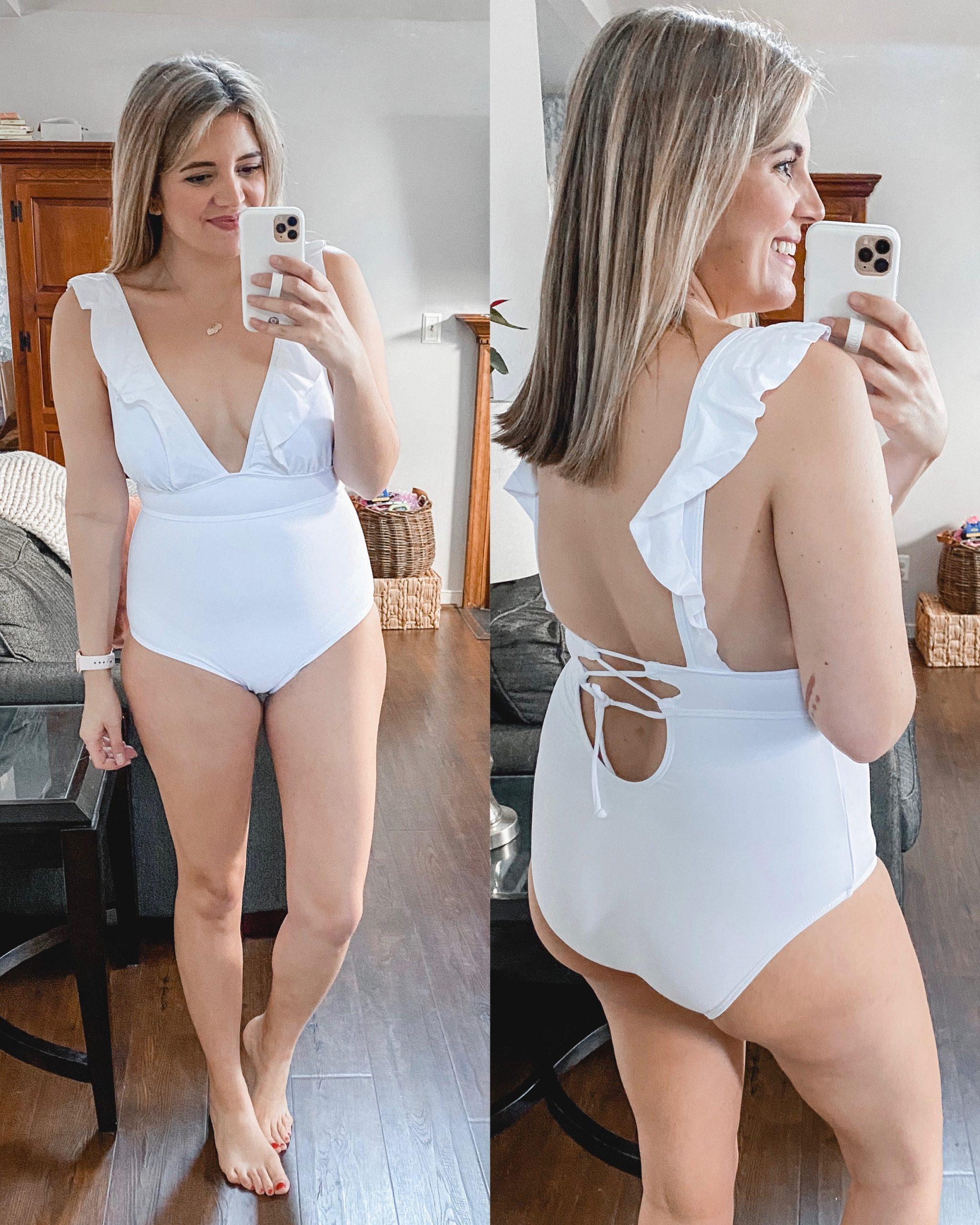 Virginia blogger Lauren Dix shares eight of the best Amazon swimsuits under $30!