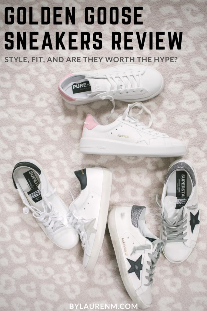 Golden Goose Sneakers Review | By Lauren M