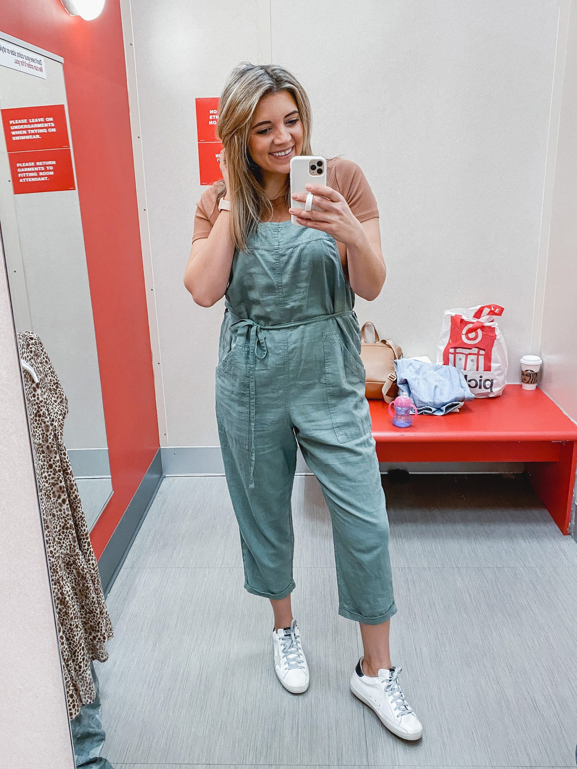 Virginia blogger, Lauren Dix, shares over ten new spring 2020 Target dresses, jumpsuits and more!