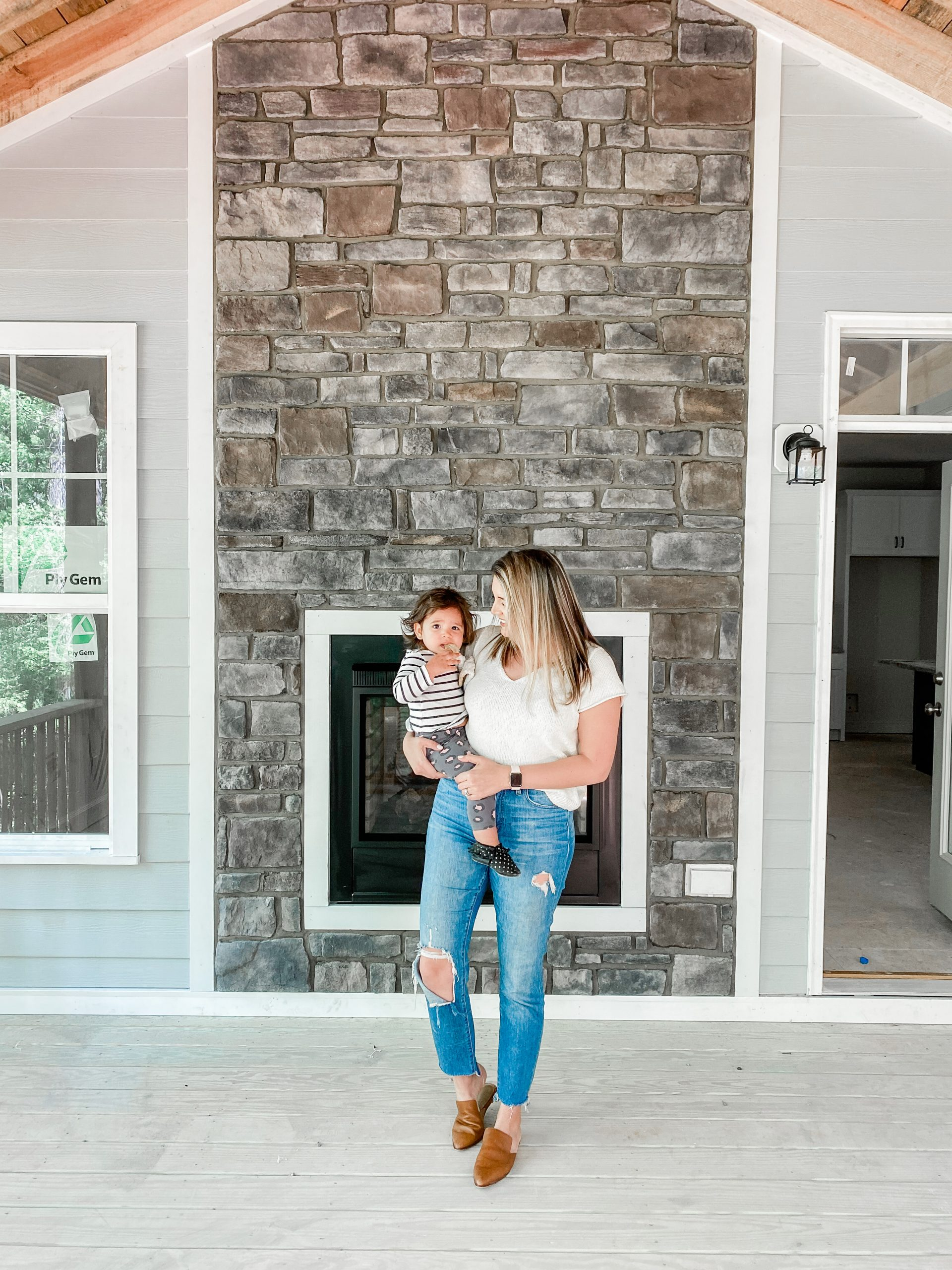Virginia blogger, Lauren Dix, shares about her home build outside Richmond, VA.