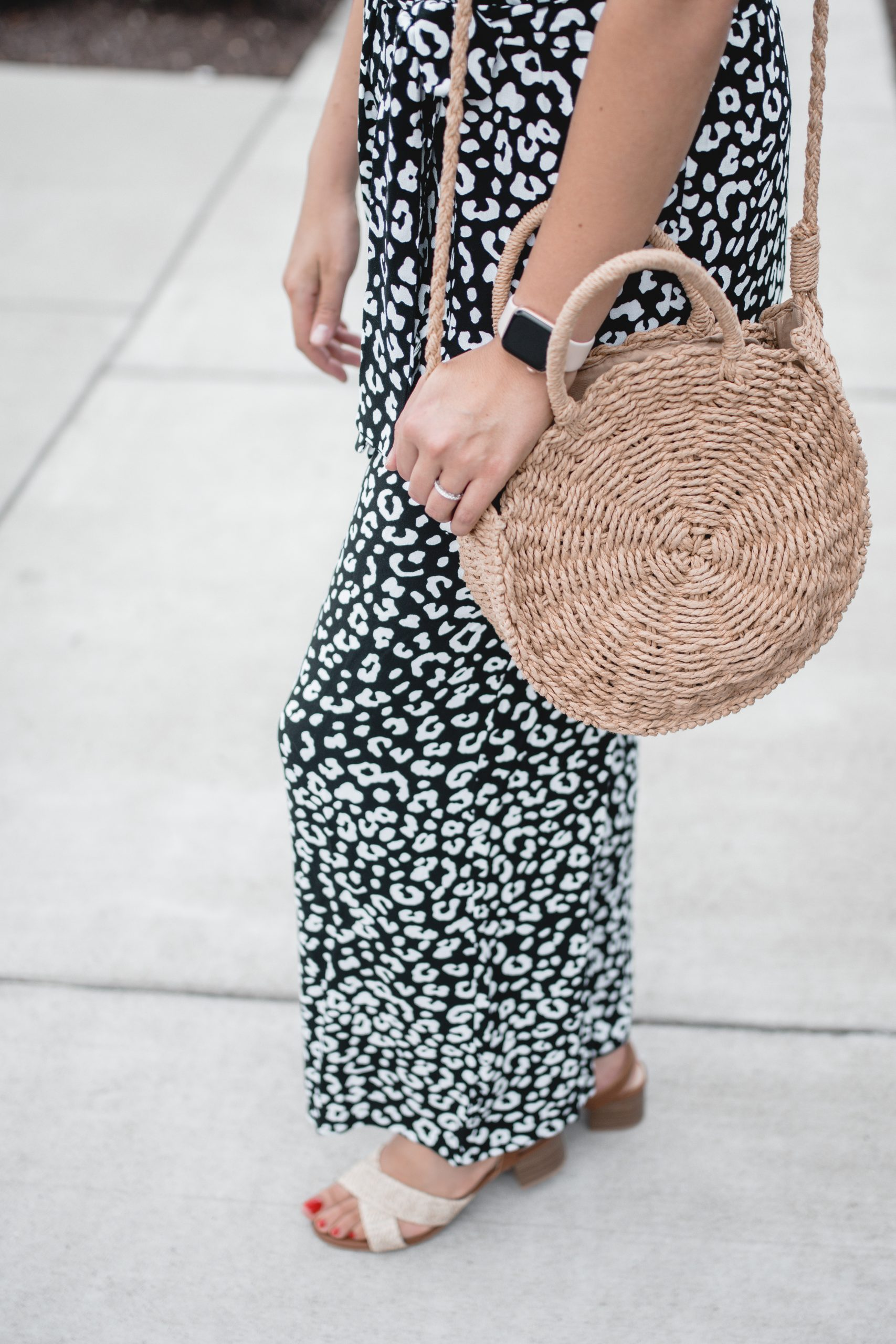 Virginia blogger, Lauren Dix, shares a summer jumpsuit outfit featuring all 2020 Walmart fashion!