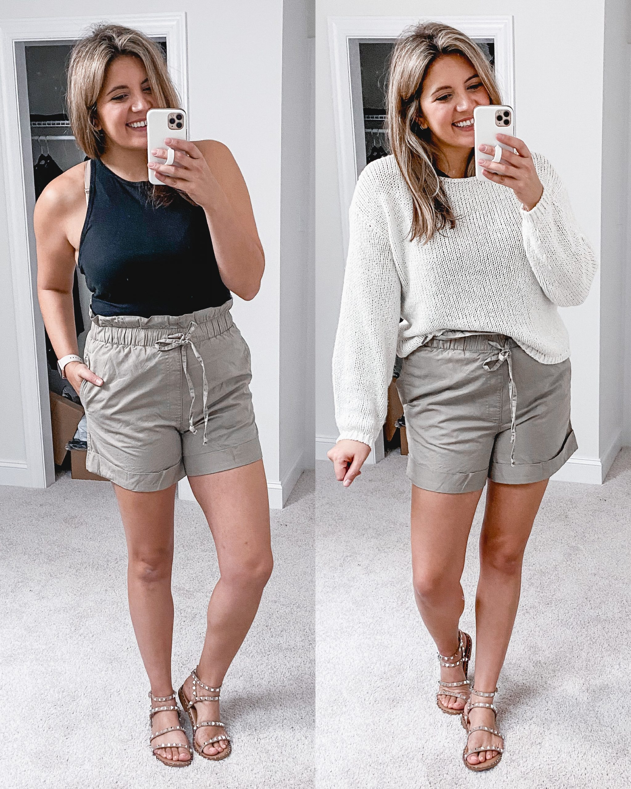 Virginia blogger, Lauren Dix, shares over ten fall transitional outfits in her Abercrombie fall try on.