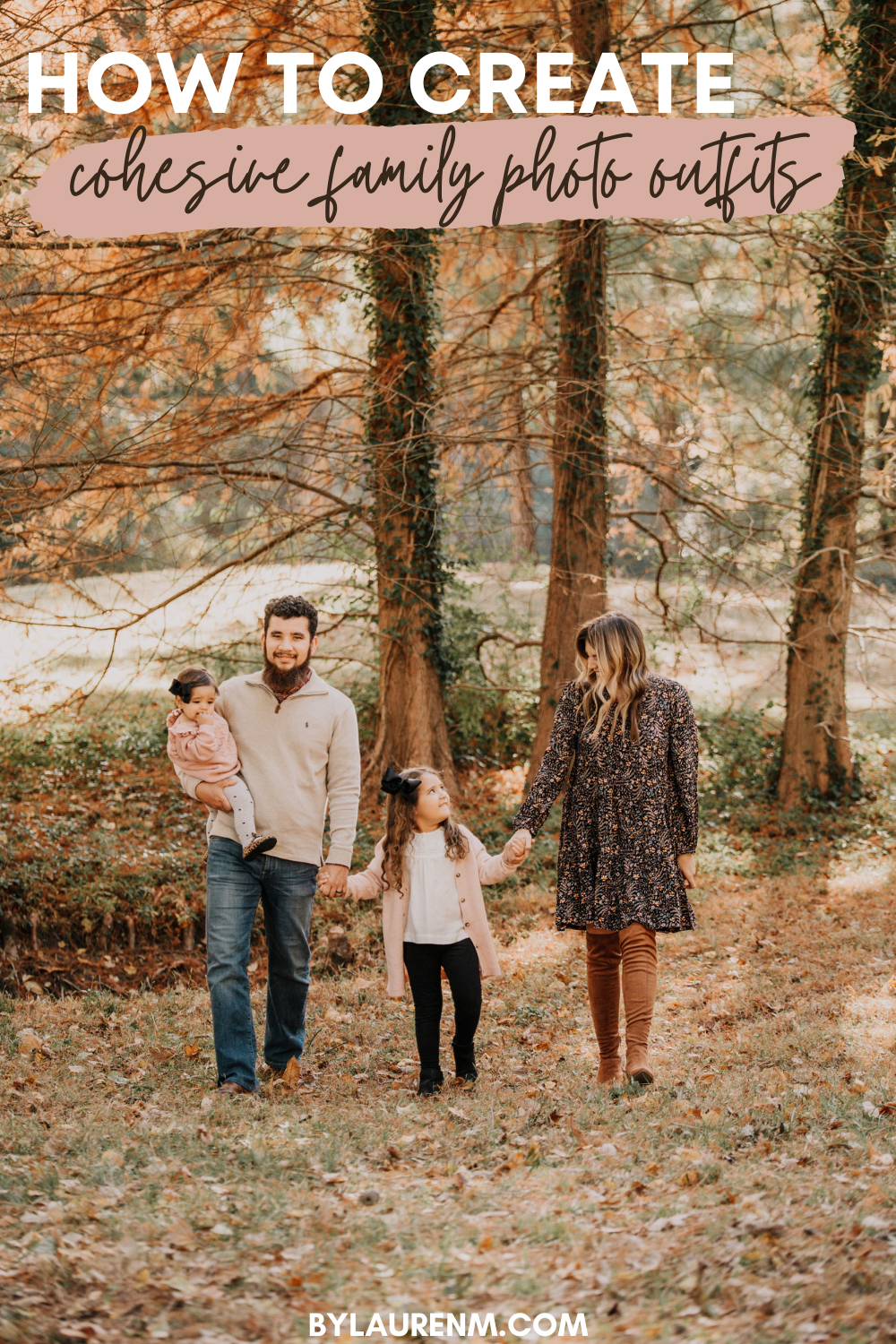 Virginia mom blogger, Lauren Dix, shares her top five tips for family photo outfits!