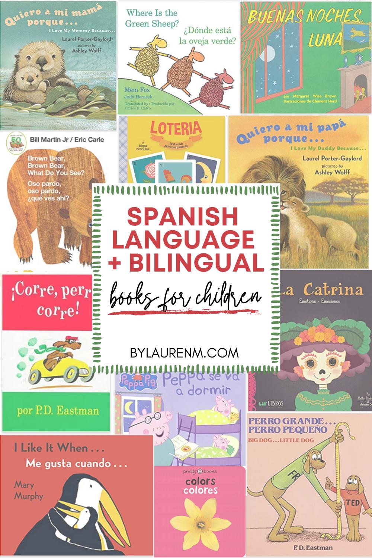 Latina mom blogger, Lauren Dix, shares her favorite Hispanic heritage, Spanish language, and bilingual books for children!