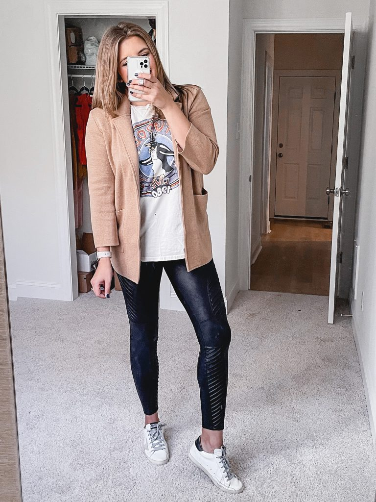 Virginia blogger, Lauren Dix, shares six sweater blazer outfits!