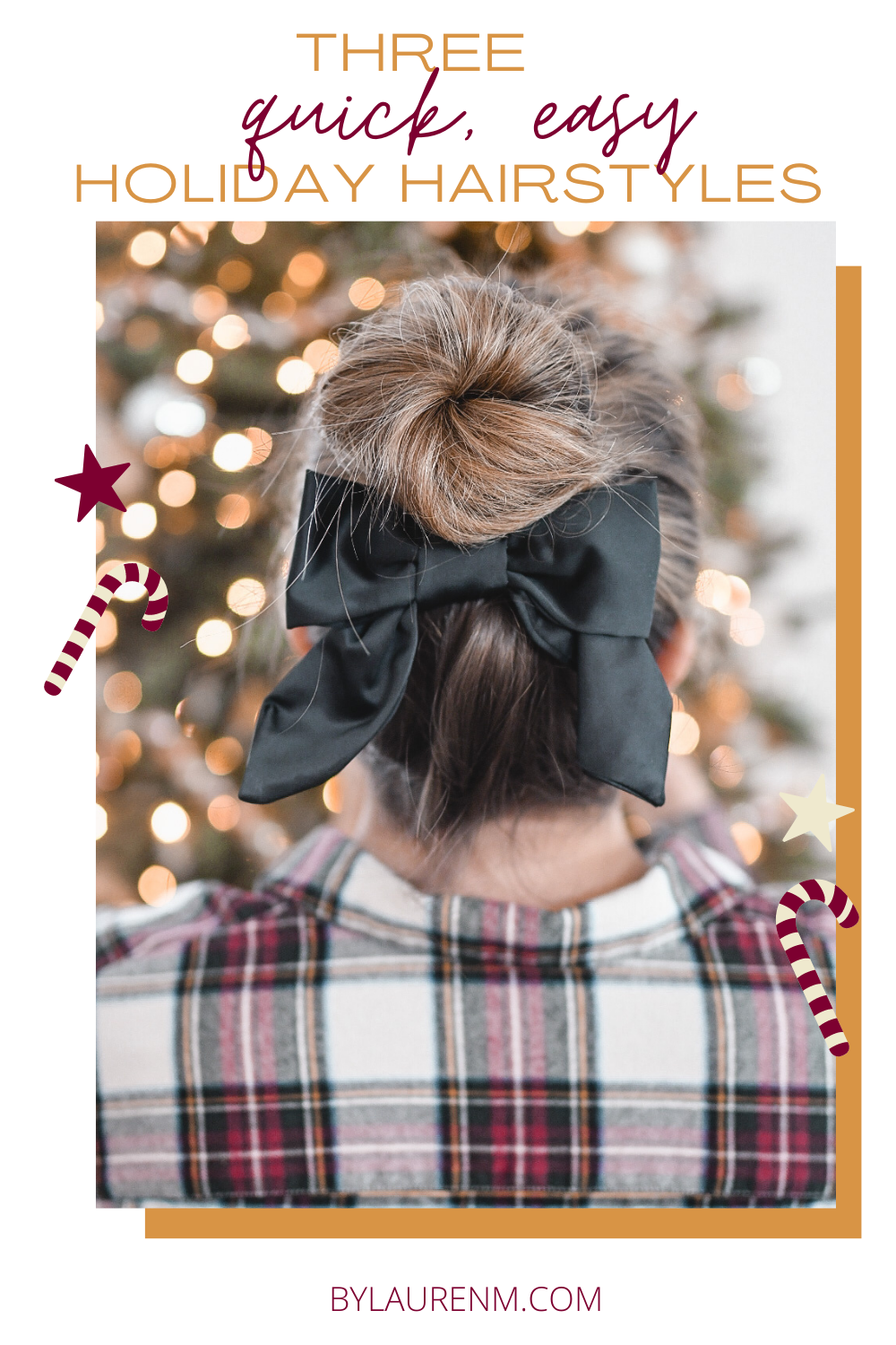 Virginia blogger, Lauren Dix, shares three quick easy holiday hairstyles that you can achieve in less than 5 minutes!