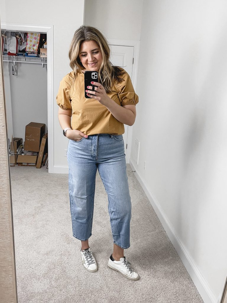 Virginia blogger, Lauren Dix, shares a Madewell try on haul with the best Madewell spring finds! Over 10 spring outfit ideas!