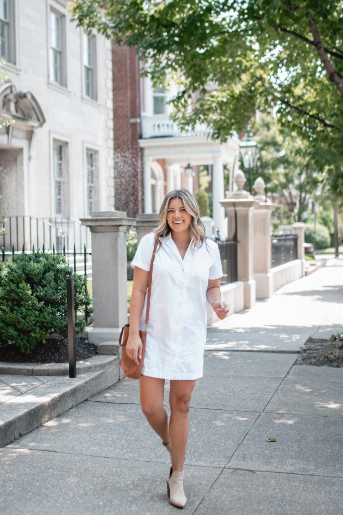Virginia blogger, Lauren Dix, shares three summer to fall outfits.