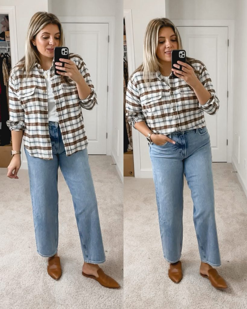 Virginia blogger, Lauren Dix, shares a Walmart Free Assembly try on with cute Walmart fall outfits!