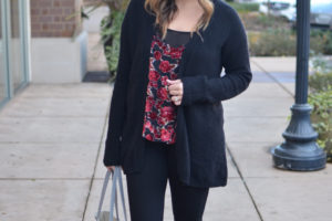 Velvet Cami Outfit