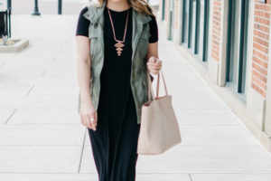 Maxi Dress + Sneakers with Sofft