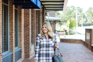 Flannel Plaid Dress Outfit