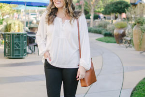 Henley Top Outfit