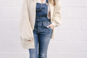 Winter Overalls Outfit