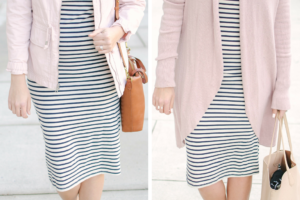 Striped Dress Two Ways