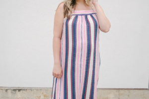 Maxi Dress with a Bralette
