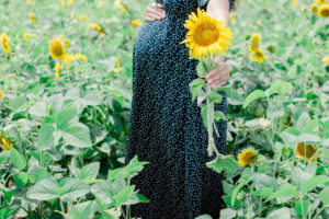 Sunflower Maternity Photos