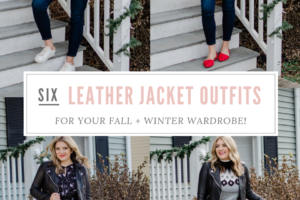 Six Leather Jacket Outfits