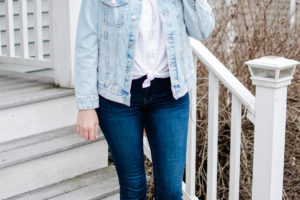 Six Oversized Denim Jacket Outfits for Spring