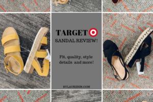 Best Target Sandals Spring