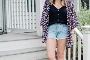 Denim Shorts Outfits