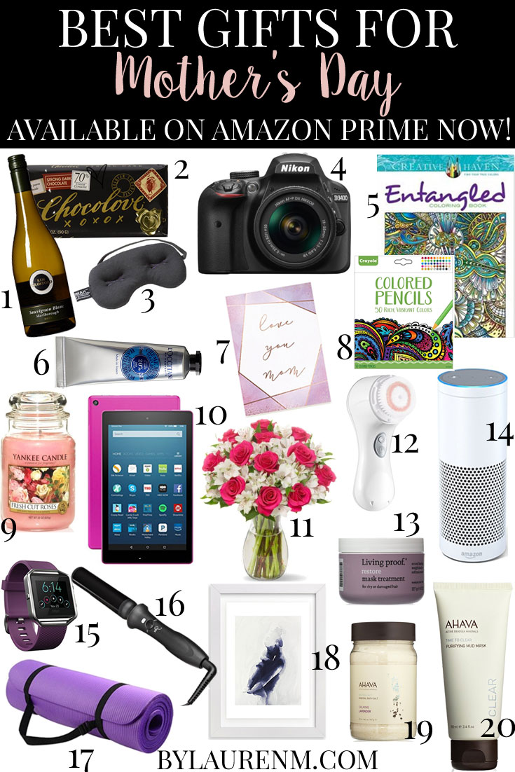 Prime Now Mother S Day Gift Guide Bylaurenm