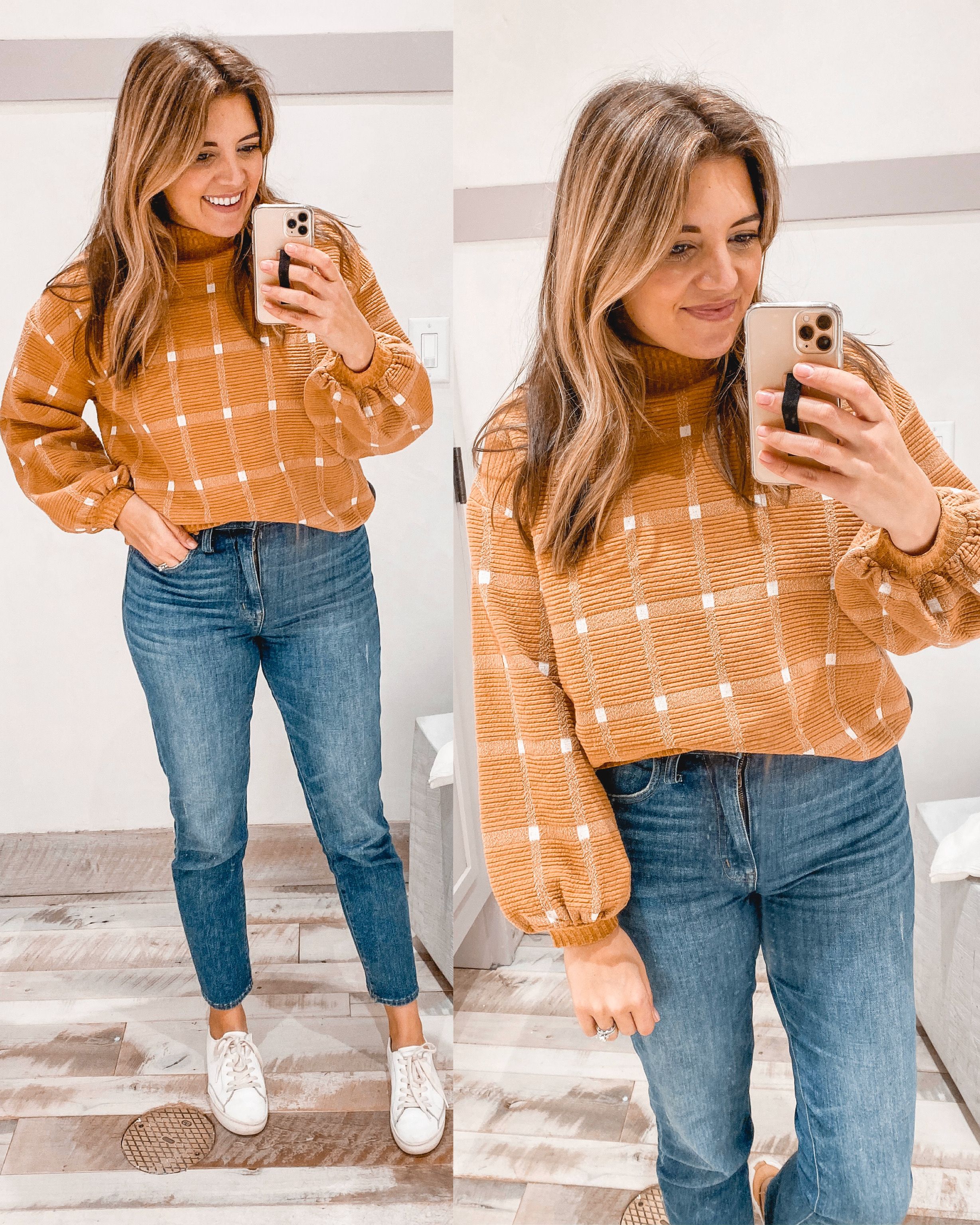 Virginia blogger, Lauren Dix, shares a November Anthropologie try on with her favorite Anthro sweaters.